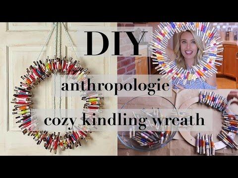 HOLIDAY DIY   Twig Wreath
