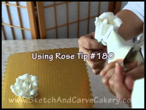 Cake Decorating: Quick Roses With Icing