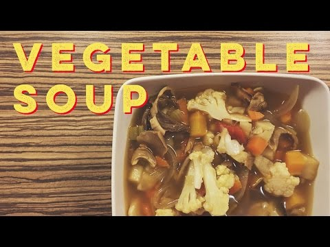 Everyday Vegetable Soup (No Stock or Broth Required) | Rich & Fresh Vegetable Soup