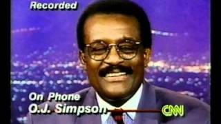The Oj Simpson Verdict Johnny Cochran On Cnn Larry King