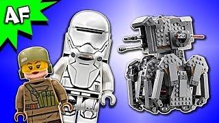Lego Star Wars 8: Last Jedi First Order HEAVY SCOUT WALKER 75177 Speed Build