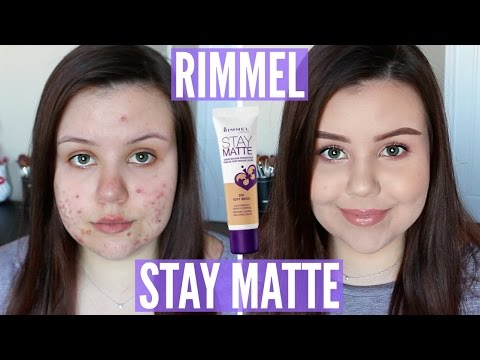 First Impressions | Rimmel Stay Matte Foundation (Oily/Acne)