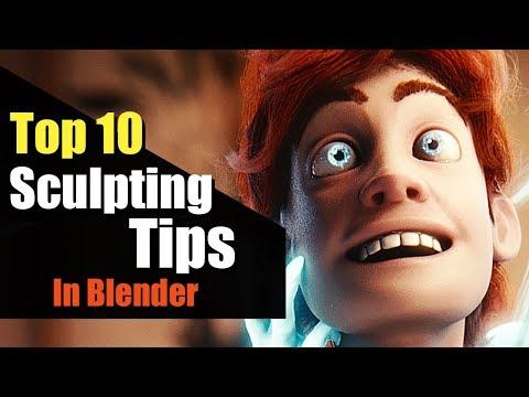 Download Top 10 Sculpting Tips And Tricks In Blender