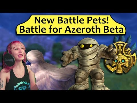 New Battle Pets! Pet Models and Movesets from the BfA Beta