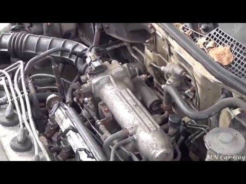 95 Honda Civic Fluctuating Idle Fix (FITV Adjustment)