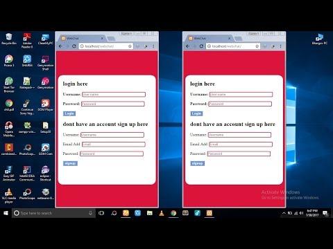 PHP + MySql - Chat Application