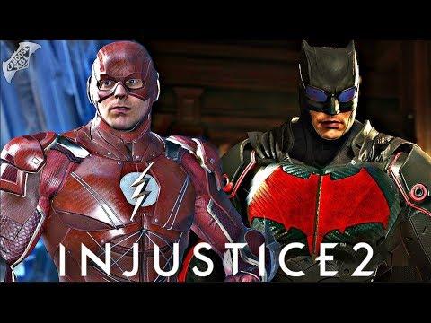 Injustice 2 - EPIC JUSTICE LEAGUE MOVIE GEAR REVEALED!
