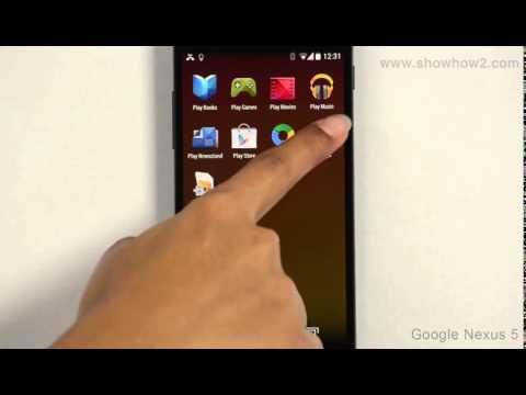 Google Nexus 5 - Screen Lock With Password