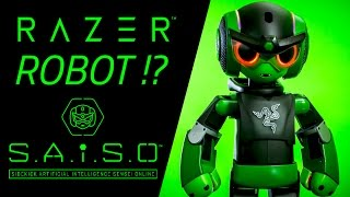 SAiSO - The real life #RazerRobot A.I. Sidekick & Gaming Sensei