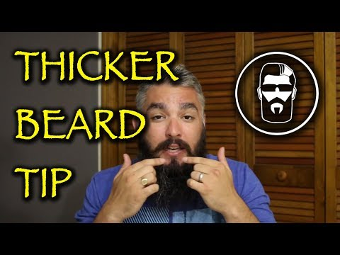 Key to a Thicker/Fuller Beard (Slow Growers)