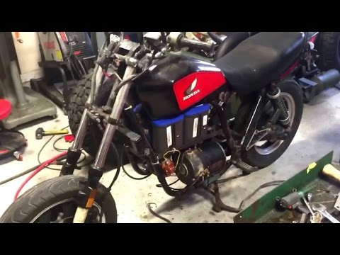 (Part 2) $500 Electric Motorcycle Build