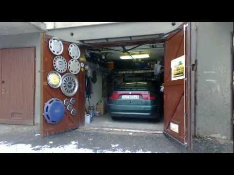Unique home made garage door opener