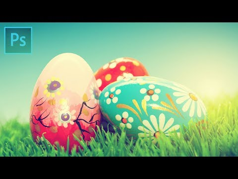 EASTER EGGS IN ADOBE PHOTOSHOP 🥚