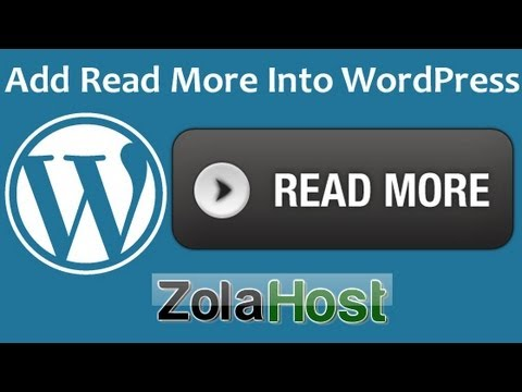 How To Add Auto Read More In WordPress