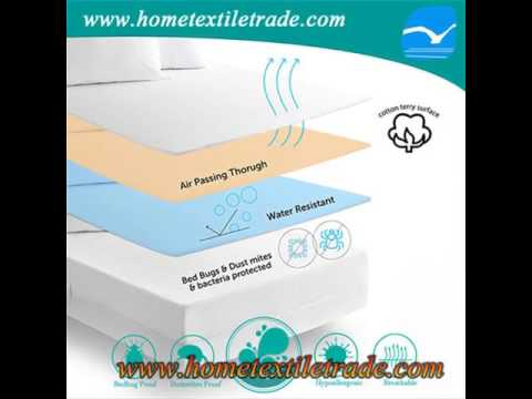 New Mattress Protector Terry Cloth Water Proof Mattress Protector
