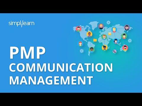 PMP Communication Management | PMP® Training Videos | Project Management Tutorial | Simplilearn