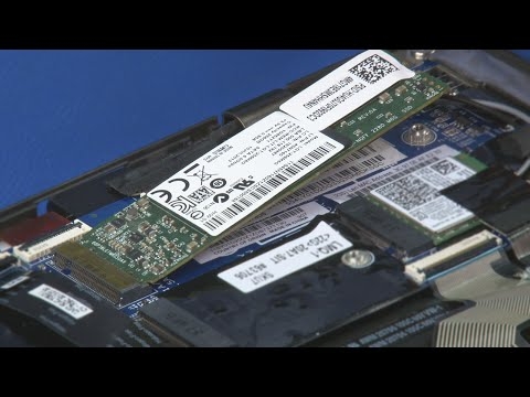 ThinkPad X1 Carbon (2nd and 3rd Gen) - M.2 Solid State Drive Replacement