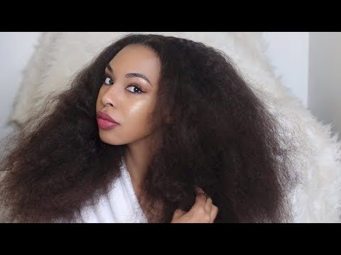 How to Grow Hair THICKER Naturally & Retain Length | My Natural Hair collection!