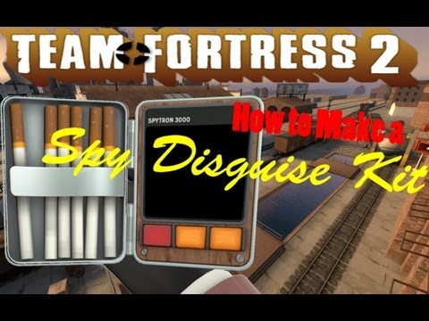 How to Make a Team Fortress 2 Spy Disguise Kit