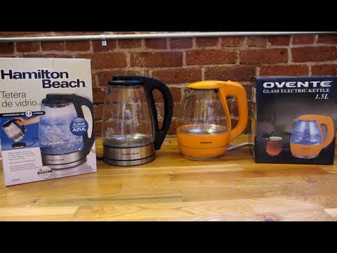 Two Best Selling Electric Kettles | Hamilton Beach vs Ovente