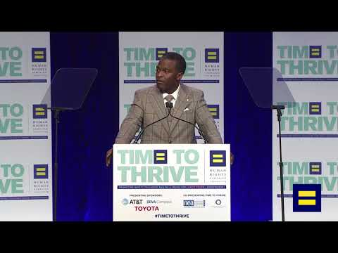 2018 Time To Thrive Presenting Sponsor Toyota Speaks at LGBTQ Youth Conference