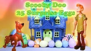 SCOOBY DOO The Scooby Doo Spooky Surprise Eggs a Scooby Doo Surprise Egg Toys  Video