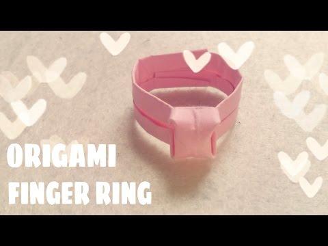 Origami Diamond Ring - Origami Easy