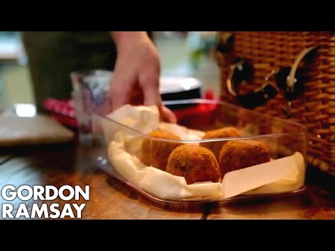 Gordon Ramsay's Scotch Eggs with a Twist