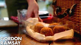 Gordon Ramsay's Scotch Eggs with a Twist