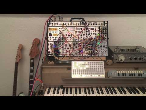 trying to feel happy / Monome / ER-301 / Rainmaker / Rings // Modular Ambient