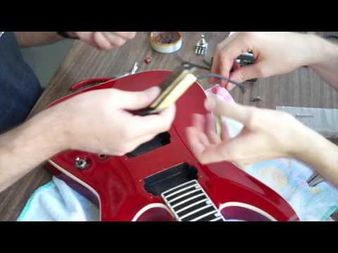 Active to Passive: Changing Pickups (ESP Guitar)