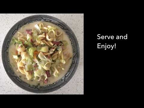 How to cook CORNED BEEF SOPAS (quick & easy steps)