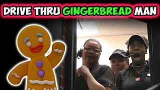 Drive Thru Gingerbread Man Prank