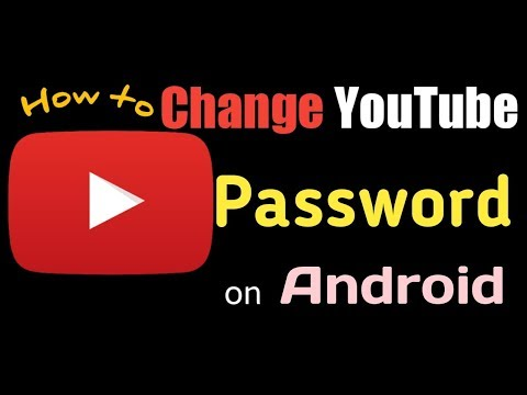 How to change YouTube password on Android | Change YouTube password