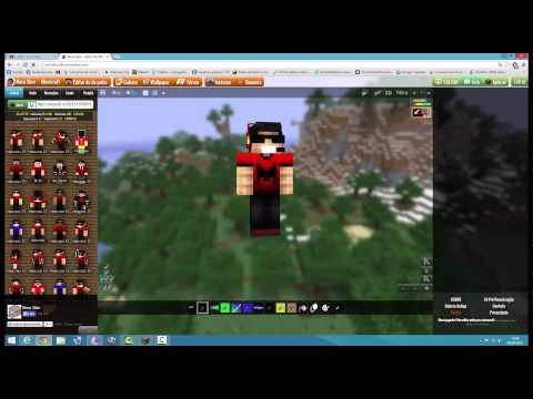 Como mudar a skin do minecraft 1.8 ou 1.7.10 (original ou pirata)