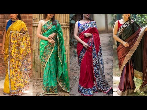 Latest Kalamkari Saree Designs With Price - She Fashion