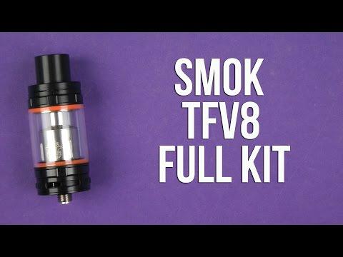 Распаковка Smok TFV8 Full Kit Stainless Steel