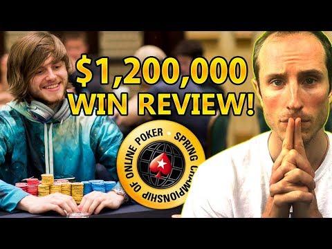 $1.2 Million SCOOP Main Event WIN Review! [Part 1]