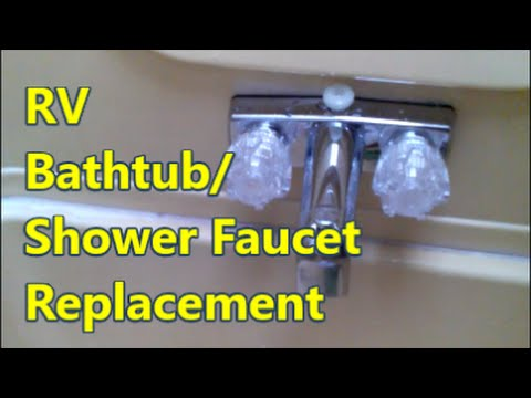 RV Shower Faucet Repair/Replacement - OMG! Friggin Finally!!!