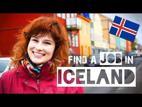 How to FIND a JOB in ICELAND | ZuzArt