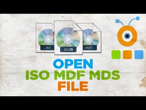 How to Open an ISO MDF MDS File