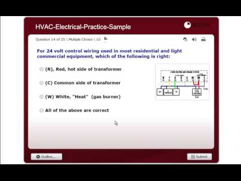 Electrical Practice Exam - NATE ICE HVAC Certification