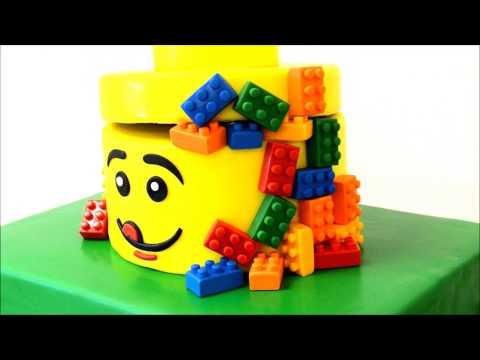 Lego Theme cake for LEGO LOVERS
