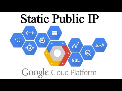 Reserving a Static External IP Address Google Cloud VM instance !!