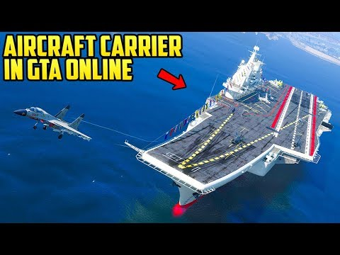 How the Aircraft Carrier Could Work in GTA Online as a Player Property!