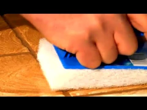 How to Remove Grout Residue From Tile : Ceramic Tile Repair