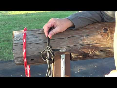 How To Tie A Horse Rope Halter - Safety For Your Horse & Ease of Untying