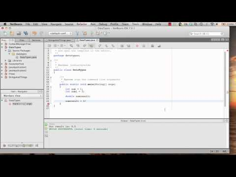 Java Tutorials #3 - Data Types & Type Casting