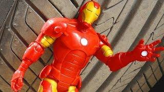 EXPERIMENT Car VS Iron man