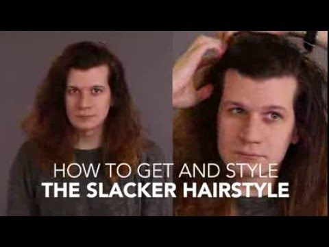 How to Cut and Style: The Slacker Hairstyle